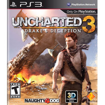 Uncharted 3 Drakes Deception Ps3 - Cod Psn Envio Na Hora