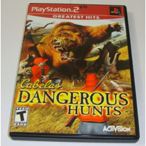 Cabela Dangerous Hunts Original Completo Ps2