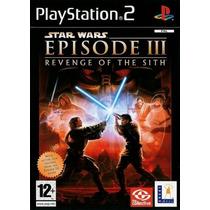 Jogo Ps2 - Star Wars - Episode 3 - Revenge Of The Sith