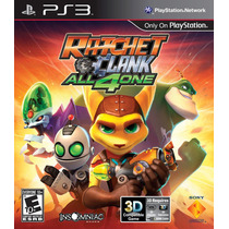Ratchet And Clank All For One - Jogo Infantil Ps3 - Em Disco