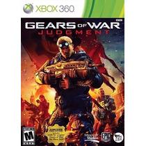 X360 - Gears Of War: Judgement - Novo