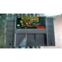 Donkey Kong Country 2 Original Gravando P/ Super Nintendo
