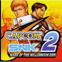Capcom® Vs. Snk 2/ Mark Of The Millenni Jogos Ps3 Codigo Psn