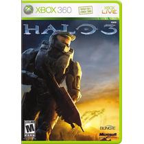 Halo 3 Standard - Xbox 360 - Orig. Lacrado - 100% Português