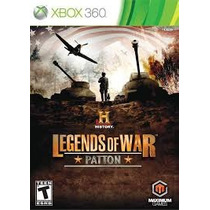 Game Xbox360 History Legends Of War: Patton