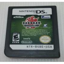 Bakugan Defenders Of The Core Nintendo Ds 2ds 3ds Original