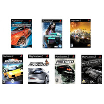 7 Patches Need For Speed, Carbon, Underground, Pro Street
