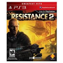 Jogo Resistance 2 Exclusivo Do Ps3 Original Lacrado