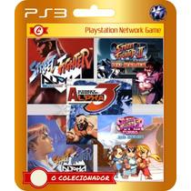 Street Fighter Alpha Coleção 5 Jogos! (código Id Ps3)