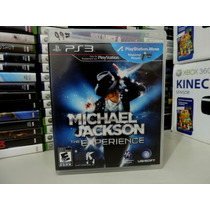 Michael Jackson The Experience Ps3 Para Kit Move