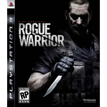 Rogue Warrior Ps3 Jogo Novo Original Lacrado Mídia Física