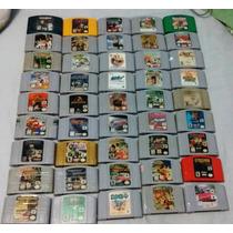 Jogos De Nintendo 64 À Partir De R$50,0