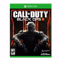 Call Of Duty Black Ops 3 Xbox One Original Lacrado Novo Xone