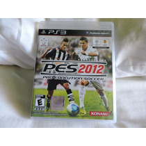 Pes 2012 Jogo Original Para Playstation 3 Ps3 Semi Novo