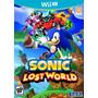 Sonic Lost World Nintendo Wii U Novo Original Mídia Física