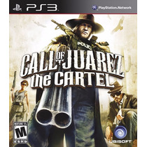 Jogo Game Call Of Juarez The Cartel Ps3 Original Lacrado