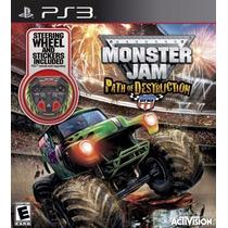 Monster Jam Path Of Destruction Para Plat Station 3 A5811