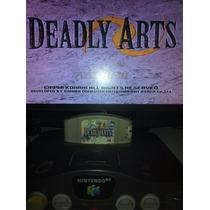Fita Cartucho Console Nintendo 64 N64 Luta Deadly Arts 20,00