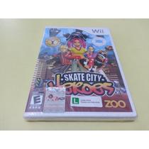 Jogo Skate City Heroes Nintendo Wii Original Lacrado !!