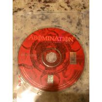 Abomination: The Nemesis Project Pc Game Jogo Raro