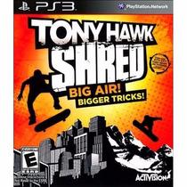 Tony Hawk Shred - Ps3 Original!