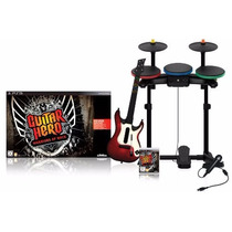 Guitar Hero Ps3 Warriors Of Rock Playstation Guitarrabateria