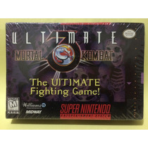 Ultimate Mortal Kombat 3 Original Lacrado P/ Super Nintendo