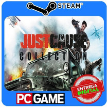 Just Cause Collection Cd-key Steam Global