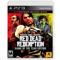 Jogo Red Dead Redemption - Edição Jogo Do Ano - (ps3)