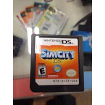 Sim City Ds 2ds 3ds Original Apenas O Game Ea