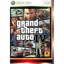Jogo Gta 4 Ntsc Original Para Xbox 360 Com Poster