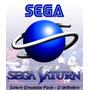 Sega Saturn Emulador Pack- Dvd 8,5gb Com 14 Jogos Vol - 1