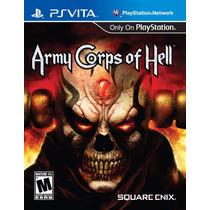 Army Corps Of Hell Jogo Ps Vita Original Lacrado