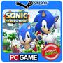 Sonic Generations Steam Cd-key Global