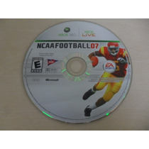 Ncaa Football 07 Original Somente O Disco Xbox 360