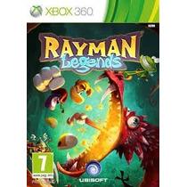 Jogo Do Xbox 360 Rayman Legends Mídia Física Lacrada