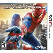 The Amazing Spider-man Nintendo 3ds Original C/ Luva E Nf