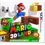 2ds 3ds 3dsxl Super Mario 3d Land Nintendo Lacrado E-sedex