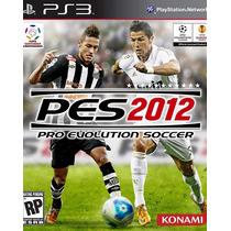 Jogo Pro Evolution Soccer Pes 2012 Da Konami Para Ps3