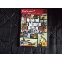 Grand Theft Auto Sanandreas Original Para Playstation 2
