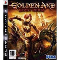 Jogo Semi Novo Golden Axe Beast Rider Playstation3