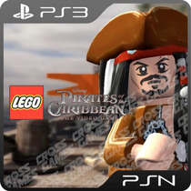 Lego Piratas Do Caribe Ps3 - Mídia Digital