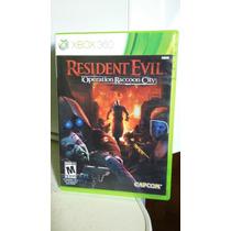 Resident Evil Operation Raccoon City Para Xbox 360
