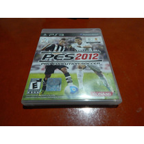 Pro Evolution Soccer 2012 Para Ps3 Original Usado.