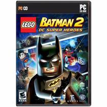 Lego Batman 2 Dc Super Heroes - Pc Dvd - Original E Lacrado