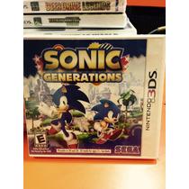 Jogo Sonic Generations Nintendo 3ds. Original