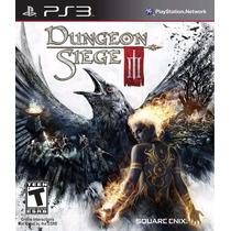 Dungeon Siege 3 Jogo Ps3 Original Lacrado