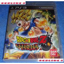 Dragon Ball Z Ultimate Tenkaichi Ps3 Impecável