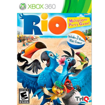 Jogo Rio Multiplayer Party Game Xbox 360 Original A6379