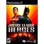 Jogo Ps2 - Justice League Heroes